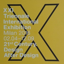 Blue™ Italy for: XXI Triennale International Exhibition - GENTUCCA BINI - Milan - 2016 - www.blueitaly.org