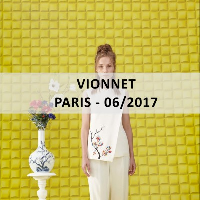 Blue™ Italy for: VIONNET - Paris - 06/2017 - www.blueitaly.org