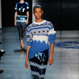 Blue™ Italy for: PRABAL GURUNG - New York - 02/2018 - www.blueitaly.org