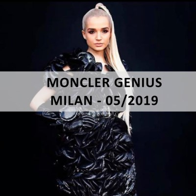 Blue™ Italy for: MONCLER GENIUS - Milan - 05/2019 - www.blueitaly.org