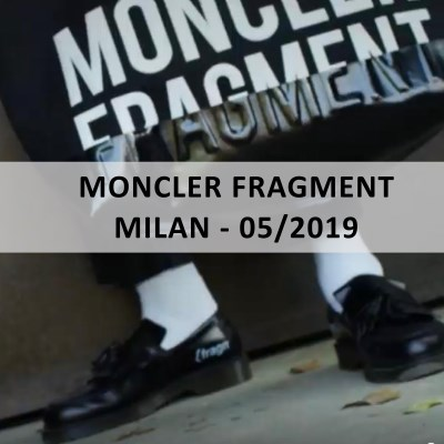 Blue™ Italy for: MONCLER FRAGMENT - Milan - 05/2019 - www.blueitaly.org